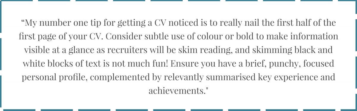 How To Write A Cv Secrets Of The Professionals